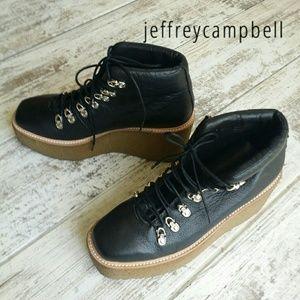 Jeffrey Campbell Viajar hiking booties